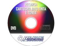 Curso de Recarga Jato de Tinta e Toner em DVD