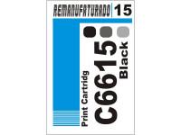Etiqueta para Cartucho HP 15  C6615