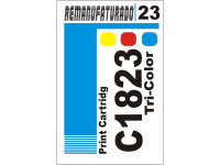 Etiqueta para Cartucho HP 23 C1823