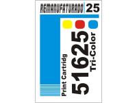 Etiqueta para Cartucho HP 25  51625