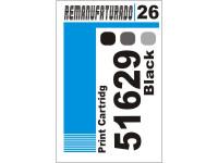 Etiqueta para Cartucho HP 26  51626