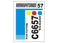 Etiqueta para Cartucho HP 57  C6657