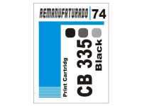 Etiqueta para Cartucho HP 74  CB335