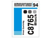 Etiqueta para Cartucho HP 94  C8765