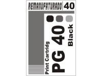 Etiqueta para Cartucho Canon 40 PG 40