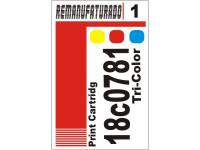 Etiqueta para Cartucho Lexmark 1  18c0781