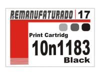 Etiqueta para Cartucho Lexmark 17  10n1183