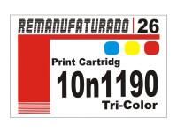 Etiqueta para Cartucho Lexmark 26  10n1190