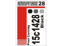 Etiqueta para Cartucho Lexmark 28  18c1428