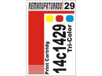 Etiqueta para Cartucho Lexmark 29  18c1429