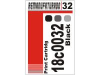 Etiqueta para Cartucho Lexmark 32 18c0032