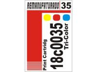Etiqueta para Cartucho Lexmark 35 18c0035