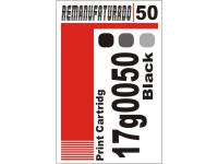 Etiqueta para Cartucho Lexmark 50  17g0050