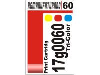Etiqueta para Cartucho Lexmark 60  17g0060