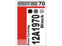 Etiqueta para Cartucho Lexmark 70  12a1970