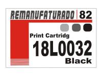 Etiqueta para Cartucho Lexmark 82  18L0032