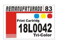 Etiqueta para Cartucho Lexmark 83  18L0042