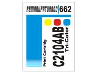 Etiqueta para Cartucho HP 662 C2104AB