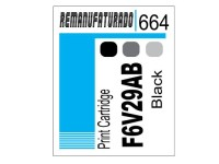 Etiqueta para Cartucho HP 664 F6V29A